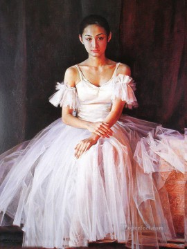 Ballerina Guan Zeju11 Chinese Oil Paintings
