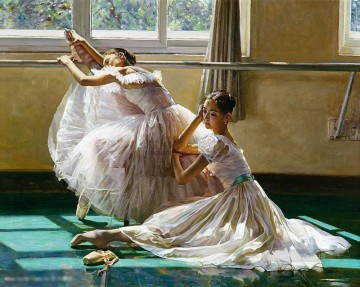 Ballerina Guan Zeju26 Chinese Oil Paintings