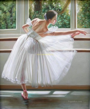 Ballerina Guan Zeju28 Chinese Oil Paintings