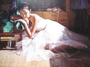Ballerina Guan Zeju32 Chinese Oil Paintings