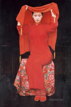 Bride 2005 WYD Chinese Girls Oil Paintings