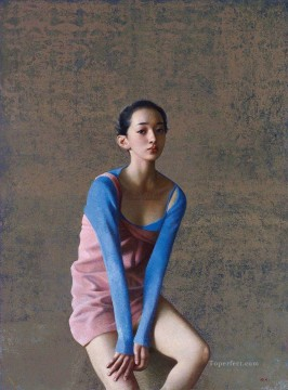 Chinese ballet girl Oil Paintings