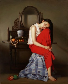Chinese Girls Painting - Guan ZEJU 19 Chinese