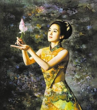 Guan ZEJU 25 Chinese Oil Paintings