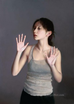 If everything is intact Chinese Girls Oil Paintings