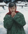 Snow at Frontier Chinese Girls