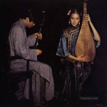 yi015D11 Chinese painter Chen Yifei Oil Paintings