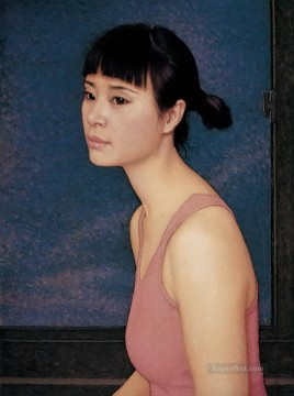 zg053cD176 Chinese painter Chen Yifei Oil Paintings