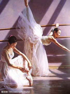 Ballerina Guan Zeju00 Chinese Oil Paintings