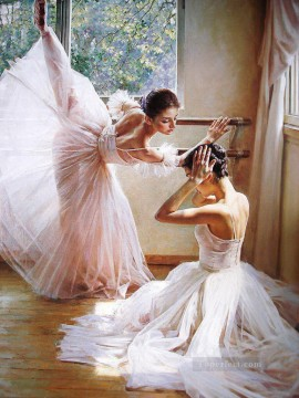 Ballerinas Guan Zeju14 Chinese Oil Paintings