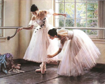 Ballerinas Guan Zeju19 Chinese Oil Paintings