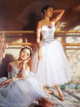 Ballerinas Guan Zeju20 Chinese Oil Paintings