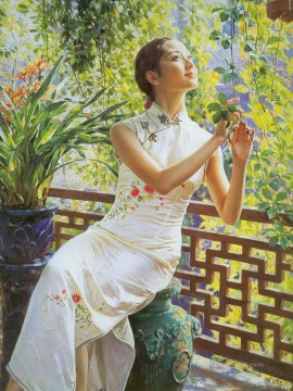 Chinese Girls Painting - Guan ZEJU 12 Chinese