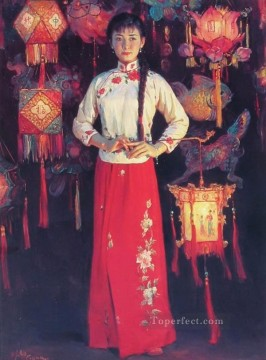 Guan ZEJU 30 Chinese Oil Paintings