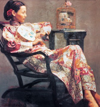 Life in a Dream Chinese Girl Oil Paintings