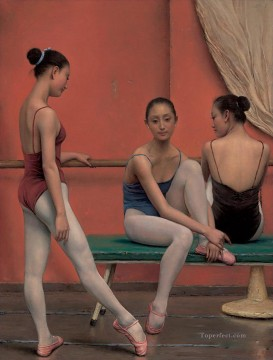 nude Ballet 24 Chinese Oil Paintings