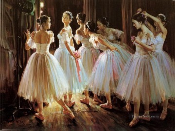Ballerinas Guan Zeju30 Chinese Oil Paintings