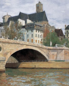 Chinese Painting - Paris Scenes WYD