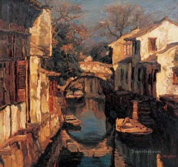 Zhouzhuang Shanshui Chinese Landscape Oil Paintings
