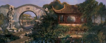 Southern Art - Garden of southern changjiang delta from China Shanshui Chinese Landscape