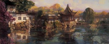 山水画 - Garden on the yangtze delta from China 中国山水画