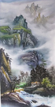 Chinese Painting - Traditional Mountains Chinese Landscape