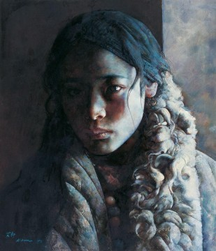 Blizzard all night AX Tibet Oil Paintings