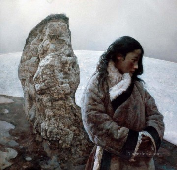 Thinking AX Tibet Oil Paintings