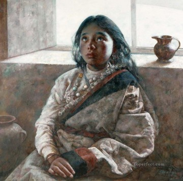 Watching AX Tibet Oil Paintings