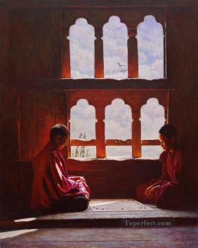 sunny days Tibetan Oil Paintings