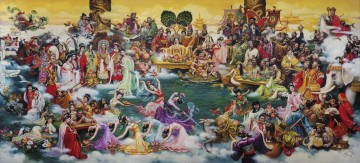 Chinese Fairy Land from China Oil Paintings