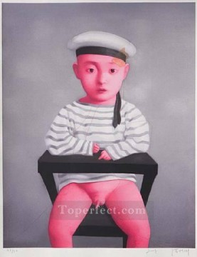 Chinese Painting - little navy 2007 ZXG from China