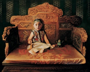 Little emperor from China Oil Paintings