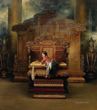 Emperor from China Oil Paintings
