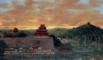 Memory of Old City from China Oil Paintings