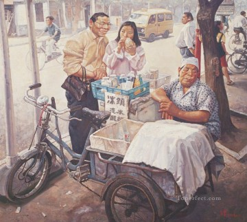 Chinese Painting - Cold drink from China