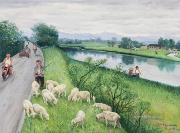 Liao River from China Oil Paintings
