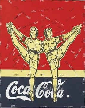 Mass Criticism Cocacola WGY from China Oil Paintings