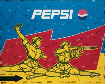 Mass Criticism Pepsi WGY from China Oil Paintings