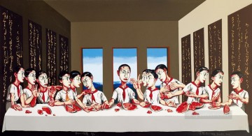 Chinese Painting - Last Supper ZFZ from China
