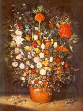 Bouquet 1603 Jan Brueghel the Elder floral Oil Paintings