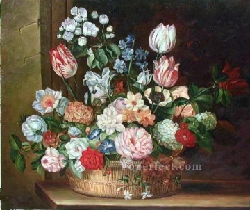 gdh026aE classic flower Oil Paintings