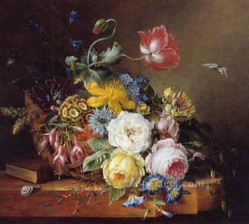 fl014E classic flower Oil Paintings