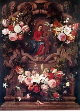 Classic Flower Painting - gdh042aD13 classic flower