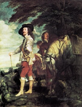 Hunting Painting - Portrait of Charles I Gdr0classical hunting