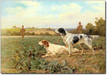Gdr0003 classical hunting Oil Paintings