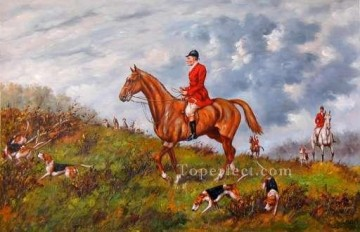 Hunting Painting - Gdr006bD13 classical hunting