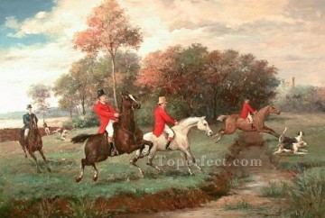 hunting Canvas - Gdr009bD13 classical hunting