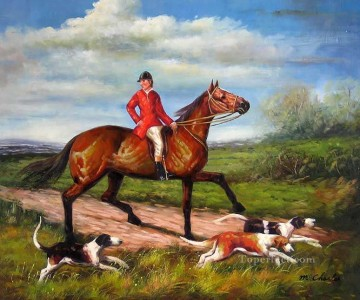 Hunting Painting - Gdr018 classical hunting