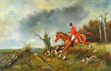 Gdr019 classical hunting Oil Paintings